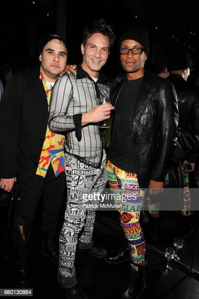 John Espinosa Anthony Contino and Kevin Crawford attend ROGER PADILHA MAURICIO PADILHA Celebrate Their Rizzoli Publication THE STEPHEN SPROUSE BOOK...