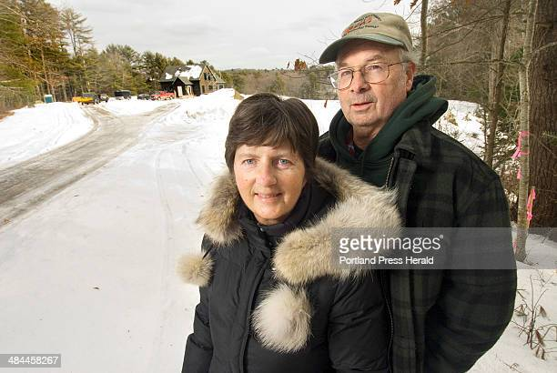Tuesday January 22 2008 Dorothy and Gary Robinson are building a retirement home on a small section of land along the St George River in Warren The...