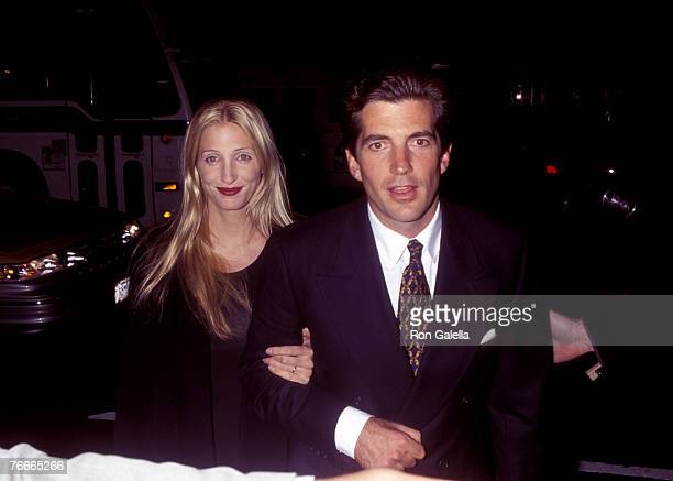 John F Kennedy Jr and Carolyn Bessette