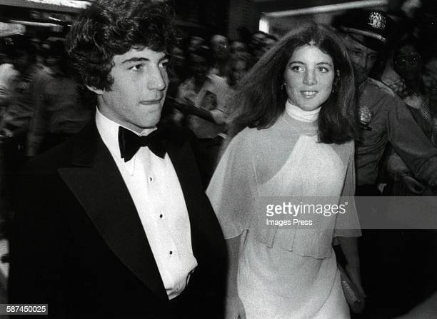 John F Kennedy Jr and sister Caroline Kennedy circa 1970s in New York City