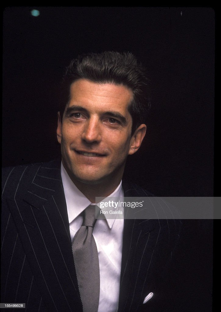 john f kennedy jr at the newmans own george awards u s customs
