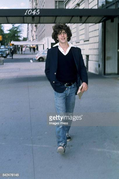 John F Kennedy Jr circa 1970s in New York City