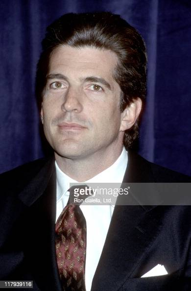 John F Kennedy Jr during Jackie Robinson Foundation Announcement at Waldorf Astoria in New York City New York United States