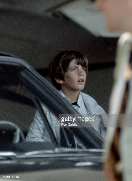 John F Kennedy Jr during John F Kennedy Jr Sighting in New York City January 1 1969 in New York City New York United States