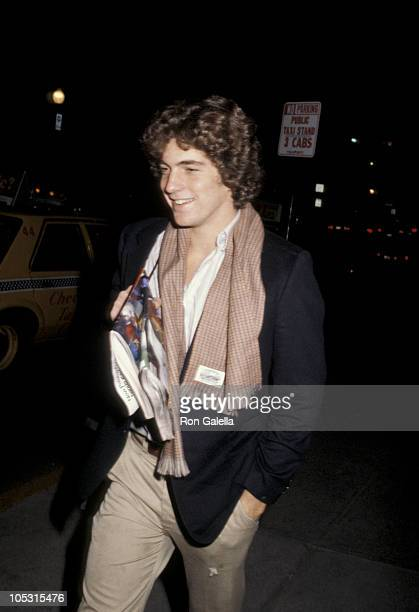 John F Kennedy Jr during John F Kennedy Jr Sighting in New York City January 1 1979 in New York City New York United States