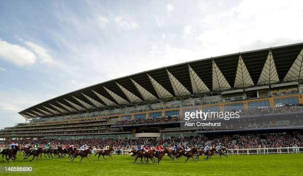 John Fahy riding Prince Of Johanne win the Royal Hunt Cup during Royal Ascot at Ascot racecourse on June 20 2012 in Ascot England