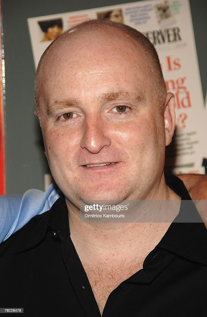 John Falk arrives during the premiere of 'The Hunting Party' at the Paris Theater on August 22, 2007 in New York City.