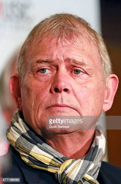 John Farnham looks on at The Age Music Victoria 10th Anniversary Hall of Fame Announcement at Palais Theatre on June 15 2015 in Melbourne Australia