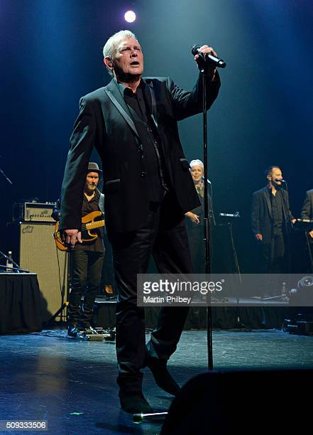 John Farnham performs on stage at the Age/ Music Victoria Hall of Fame Awards Awards at the Palais Theatre on 20th November 2015 in Melbourne...