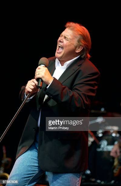 John Farnham performs on stage at the Melbourne International Music festival on 27th February 2005 in Melbourne Australia