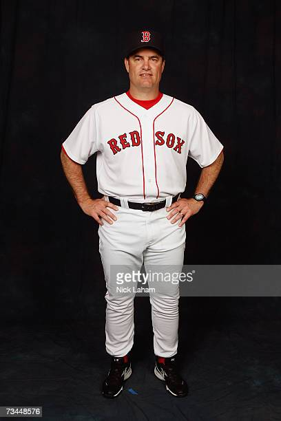 John Farrell poses for a portrait during the Boston Red Sox Photo Day at the Red Sox spring training complex on February 24 2007 in Fort Myers Florida