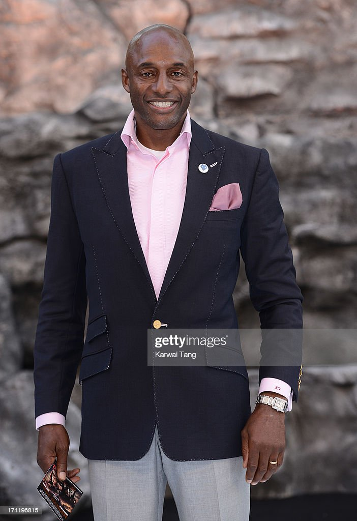 John Fashanu attends the UK Premiere of 'The Lone Ranger' at Odeon Leicester Square on July 21, 2013 in London, England.