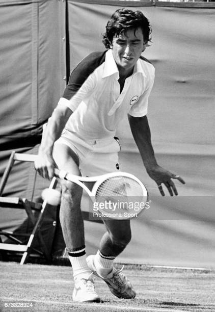 John Feaver of Great Britain in action at Bournemouth England circa May 1978