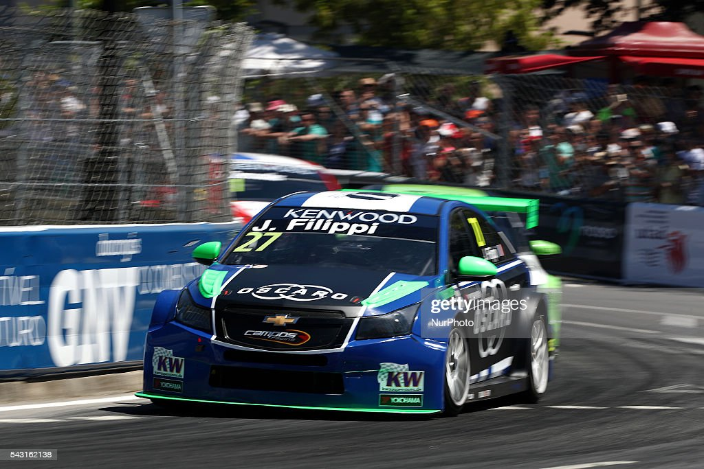 John Filippi (FRA) in Chevrolet RML Cruze TC1 of Campos Racing in action during FIA WTCC 2016, at Vila Real in Portugal, on June 25, 2016.