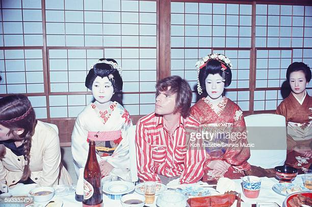 John Fogerty Creedence Clearwater Revival entertained by Geisha Tokyo February 1972