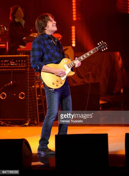 John Fogerty during his opening night residency at Wynn Las Vegas on March 3 2017 in Las Vegas Nevada