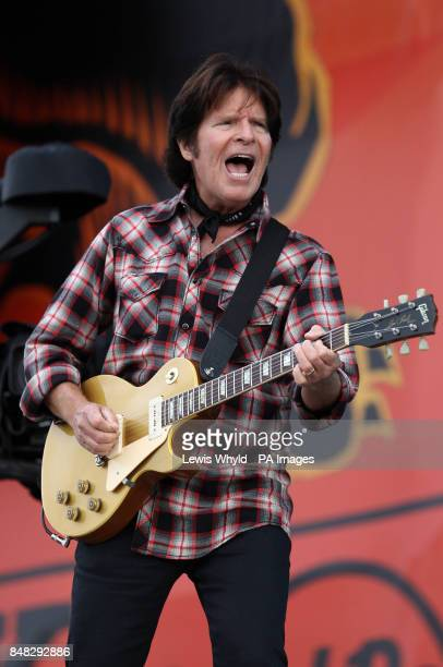 John Fogerty performs at the Hard Rock Calling music festival in Hyde Park London