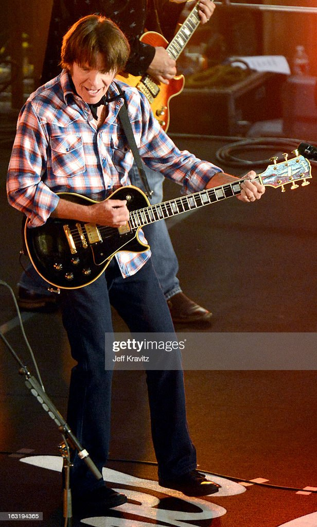 <a gi-track='captionPersonalityLinkClicked' href=/galleries/search?phrase=John+Fogerty&family=editorial&specificpeople=210703 ng-click='$event.stopPropagation()'>John Fogerty</a> performs with the Sound City Players on 'Jimmy Kimmel Live' on March 5, 2013 in Hollywood, California.