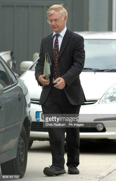 John Foster husband of Dr Alethea Foster leaves Cambridge magistrates court Wednesday 5 October 2005 Retired podiatrist Alethea Foster of Bromley in...