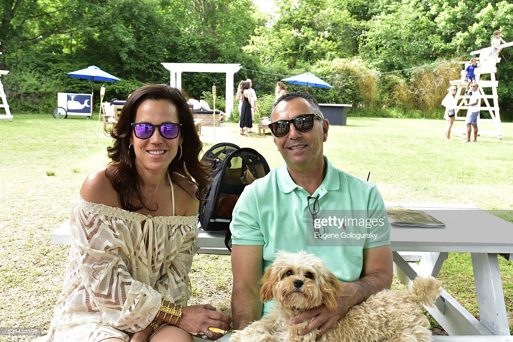 John Franco of NY Mets and Rose Franco attend as Jason Binn hosts his Annual Memorial Day Party with DuJour Media's Leslie Farrand and Moby's sponsored by Rolls-Royce and Empire CLS on May 29, 2016 in East Hampton.