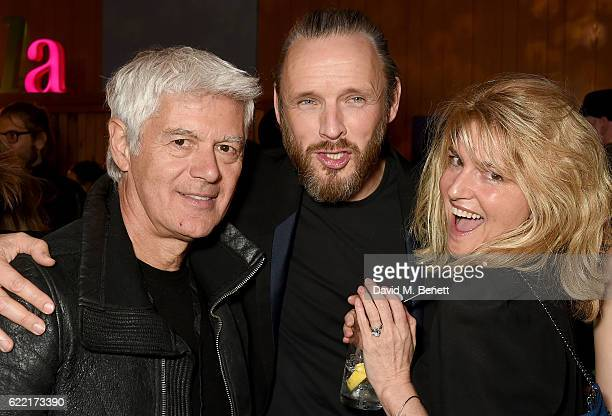 John Frieda Alasdhair Willis and Avery Agnelli attend the Stella McCartney Menswear Launch and Women's Spring 2017 Collection Presentation at Abbey...