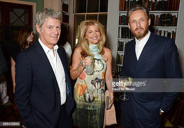 John Frieda Avery Agnelli and Alasdhair Willis attend The London 2014 Stella McCartney Green Carpet Collection during London Fashion Week at The...