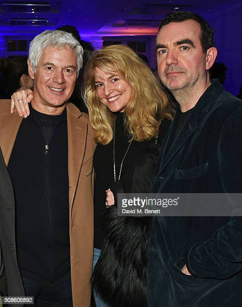 John Frieda Avery Agnelli and Simon Aboud attend a cast and crew screening of 'This Beautiful Fantastic' at BAFTA on February 5 2016 in London England