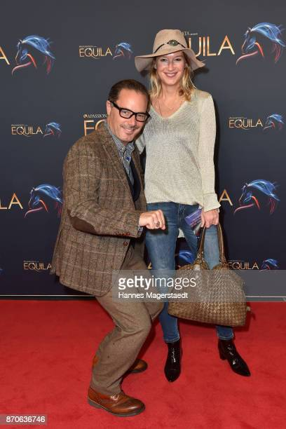 John Friedmann and his partner Tini Fuchs during the world premiere of the horse show 'EQUILA' at Apassionata Showpalast Muenchen on November 5 2017...