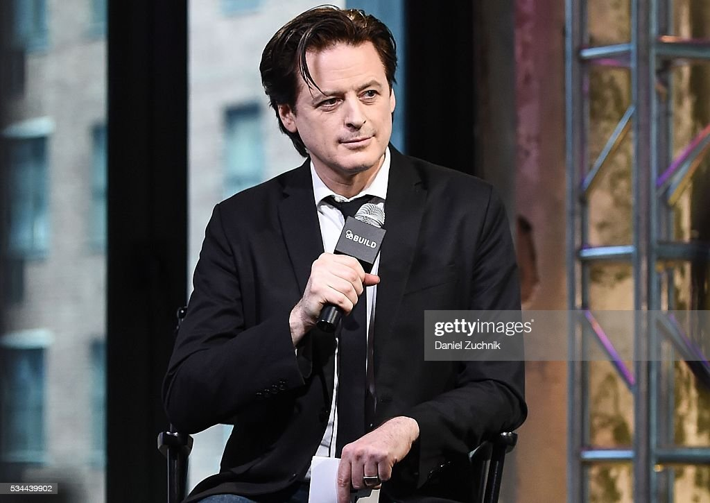 John Fugelsang attends AOl Build to discuss with Carol Kane her role in Netflix's 'Unbreakable Kimmy Schmidt' at AOL Studios on May 26, 2016 in New York City.