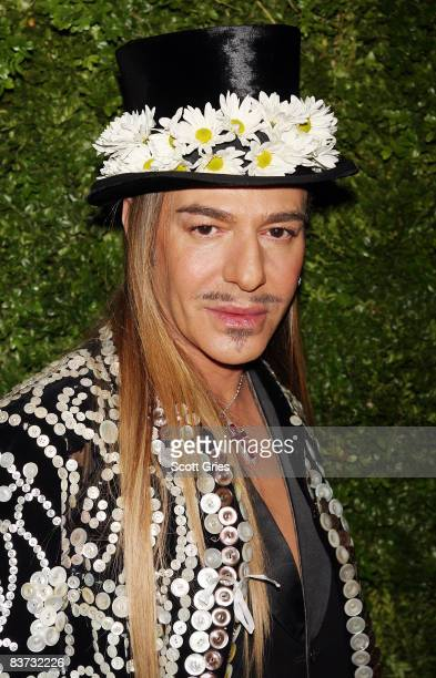 John Galliano attends the 5th Anniversary of the CFDA/Vogue Fashion Fund at Skylight Studios on November 17 2008 in New York City