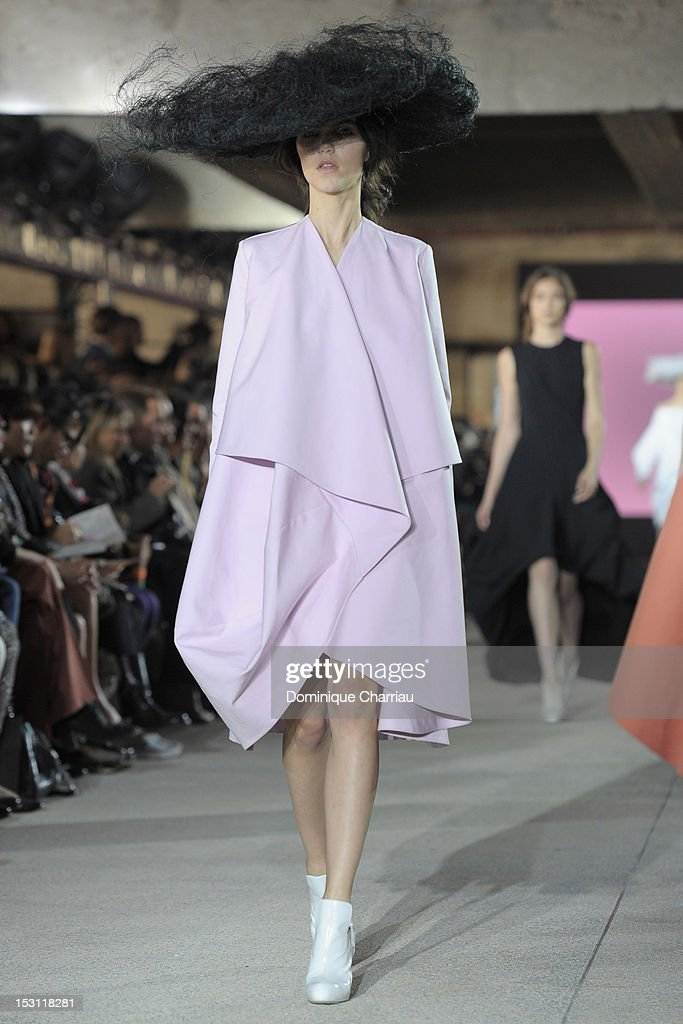 John Galliano Spring / Summer 2013 show as part of Paris Fashion Week on September 30, 2012 in Paris, France.