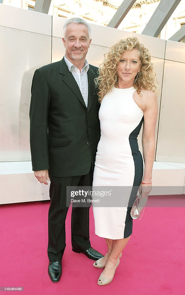 John Gardiner (L) and <a gi-track='captionPersonalityLinkClicked' href=/galleries/search?phrase=Kelly+Hoppen&family=editorial&specificpeople=214726 ng-click='$event.stopPropagation()'>Kelly Hoppen</a> arrive at the Royal Academy of Arts Summer Exhibition Preview Party at Royal Academy of Arts on May 30, 2012 in London, England.