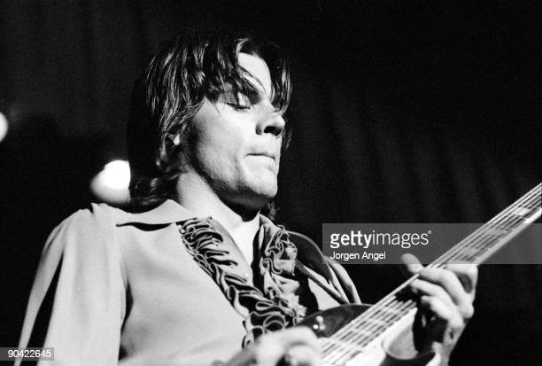 John Geils of the J Geils Band performs on stage in July 1972 in New York