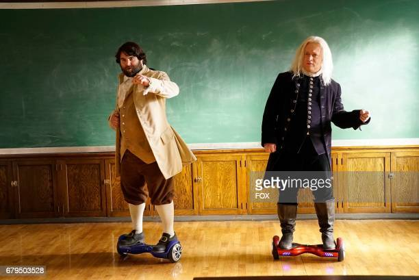 John Gemberling and Neil Casey in the 'Night Cream' episode of MAKING HISTORY airing Sunday April 30 on FOX