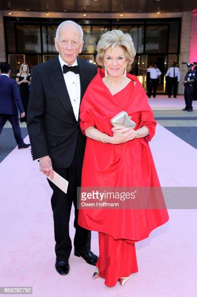 John Georges and Jane Gosden attends the New York City Ballet's 2017 Fall Fashion Gala on September 28 2017 in New York City