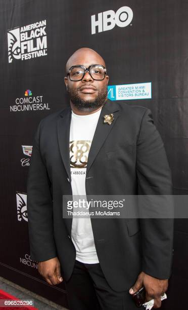 John Gibson attends 2017 American Black Film Festival on June 14 2017 in Miami Florida