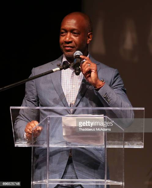 John Gibson speaks at The 2017 American Black Film Festival on June 14 2017 in Miami Florida