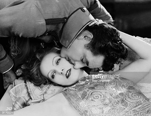 John Gilbert and Greta Garbo play the unhappy lovers in 'Flesh and the Devil' directed by Clarence Brown
