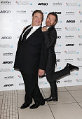 John Goodman and Bryan Cranston attend the Gala Premiere of 'Argo' during the 56th BFI London Film Festival at Odeon Leicester Square on October 17...