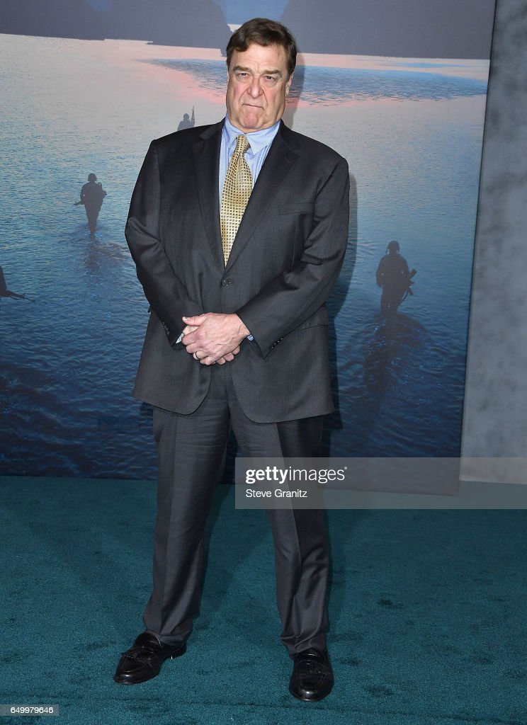 John Goodman arrives at the Premiere Of Warner Bros. Pictures' 'Kong: Skull Island' at Dolby Theatre on March 8, 2017 in Hollywood, California.