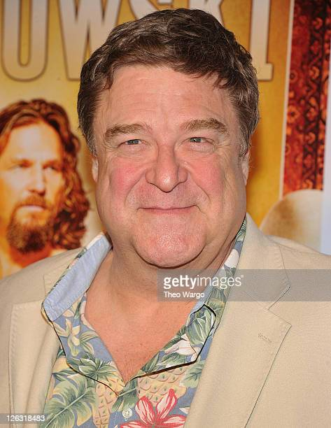 John Goodman attends 'The Big Lebowski' Bluray release at the Hammerstein Ballroom on August 16 2011 in New York City