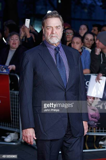 John Goodman attends the 'Trumbo' Accenture Gala during the BFI London Film Festival at Odeon Leicester Square on October 8 2015 in London England