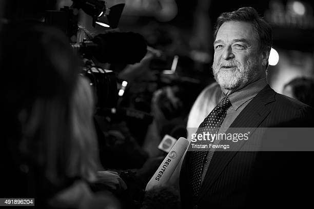 John Goodman attends the 'Trumbo' premiere during the London Film Festival at the Odeon Leicester Square on October 8 2015 in London England