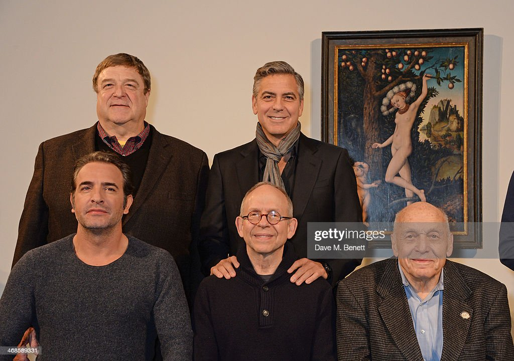 The monuments men photocall getty images for Jean dujardin parents
