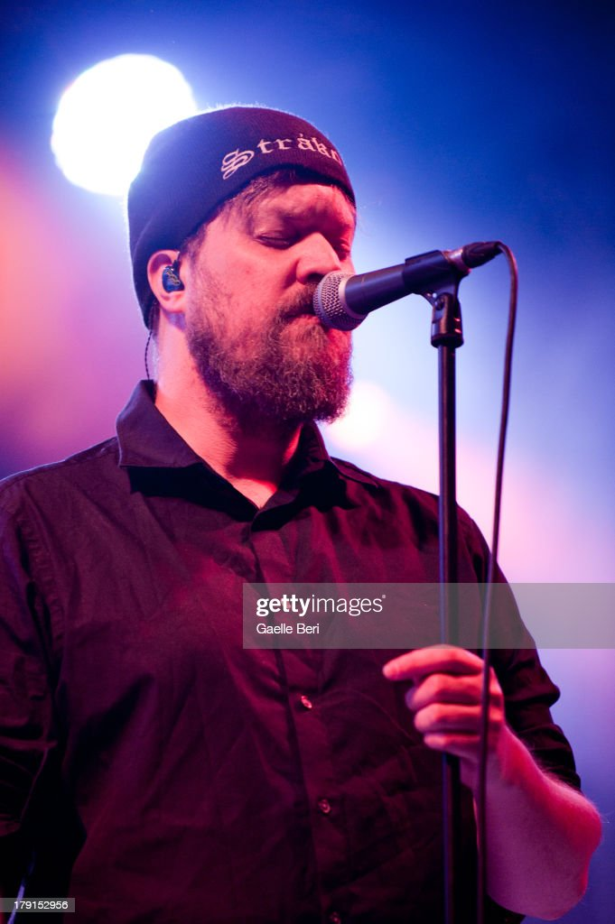 <a gi-track='captionPersonalityLinkClicked' href=/galleries/search?phrase=John+Grant+-+Singer+Songwriter&family=editorial&specificpeople=15155301 ng-click='$event.stopPropagation()'>John Grant</a> performs on stage on Day 2 of Electric Picnic Festival 2013 at Stradbally Hall Estate on August 31, 2013 in Dublin, Ireland.