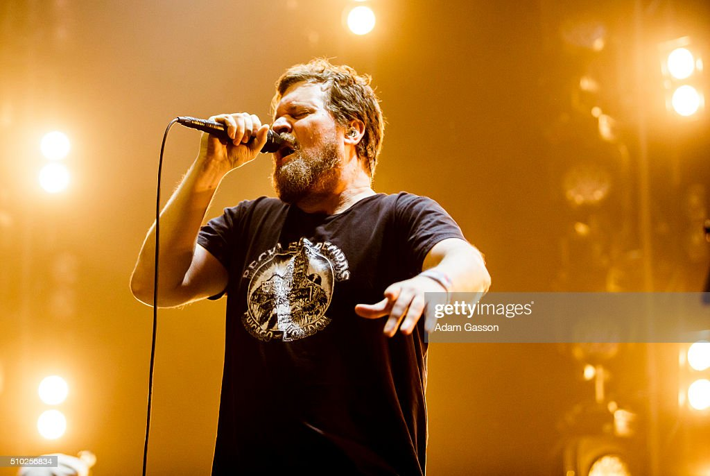 John Grant performs on the third day of the BBC 6 Music Festival at Colston Hall on February 14, 2016 in Bristol, England.