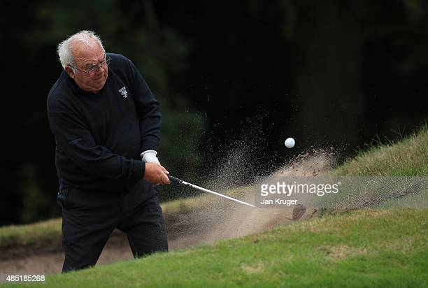 John Gregory of Telford GolfCountry Club during the Golfplan Insurance PGA ProCaptain Challenge Midland Qualifier at Enville Golf Club on August 25...