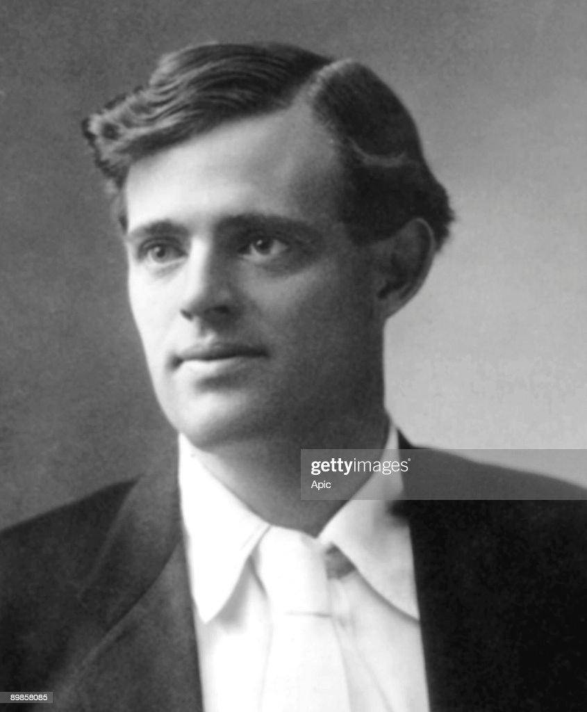 John Griffith Chaney aka Jack London american writer here in 1906