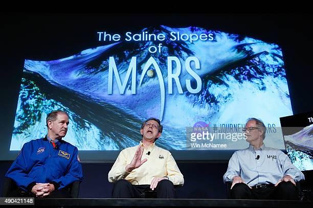 John Grunsfeld associate administrator at NASA's Science Mission Directorate Jim Green director of planetary science at NASA Headquarters and Michael...