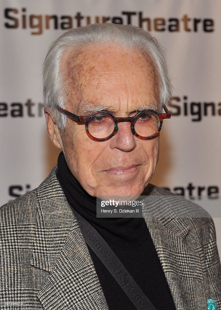 <a gi-track='captionPersonalityLinkClicked' href=/galleries/search?phrase=John+Guare&family=editorial&specificpeople=242867 ng-click='$event.stopPropagation()'>John Guare</a> attends the 2013 Signature Theatre Gala at The Signature Center on February 11, 2013 in New York City.